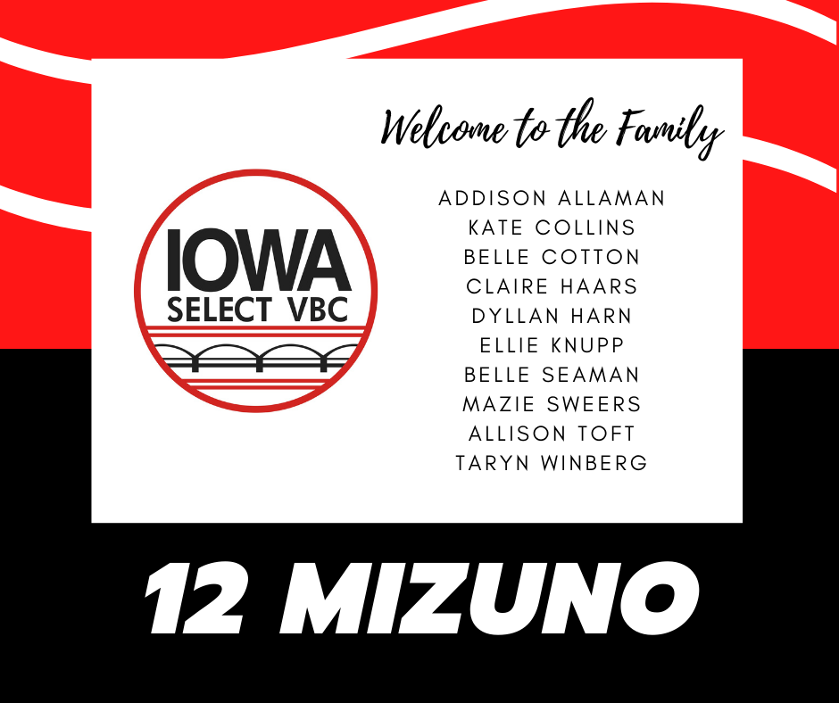 12 Mizuno roster