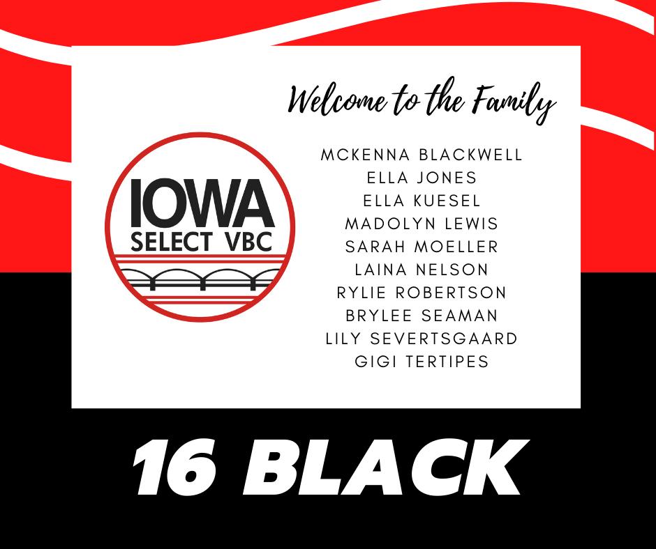 16 Black roster